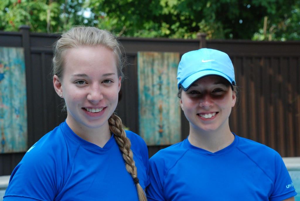 2012 Instructors - Sarah and Marissa
